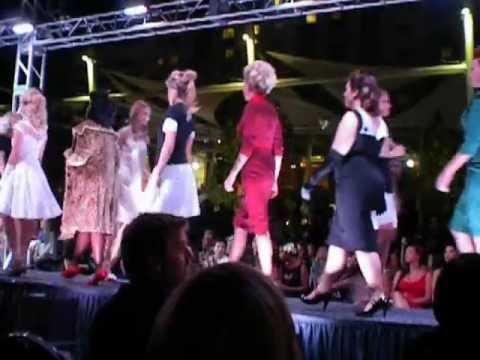 Salt Lake City Fashion Night Out Runway Show - Final Walk