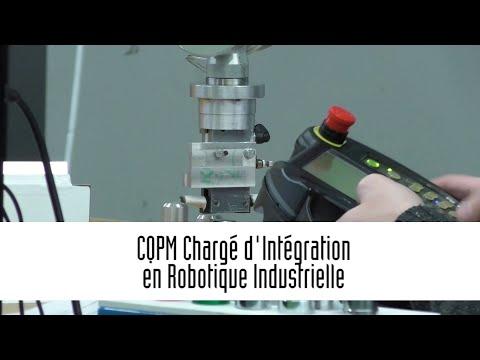 Formation : CQPM chargé d'intégration en robotique industrielle
