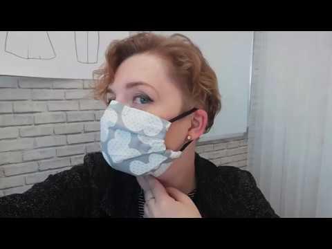 Пошив медицинской маски своими руками без машинки.
