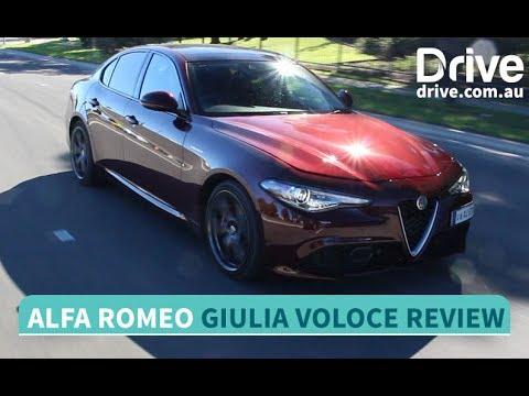 2017 Alfa Romeo Giulia Veloce Review   Drive.com.au - YouTube Alfa Romeo Giulia Veloce Review on alfa sprint, 1974 alfa 1600 spider veloce, aston martin veloce, alfa giulia spider veloce, alfa gt veloce,