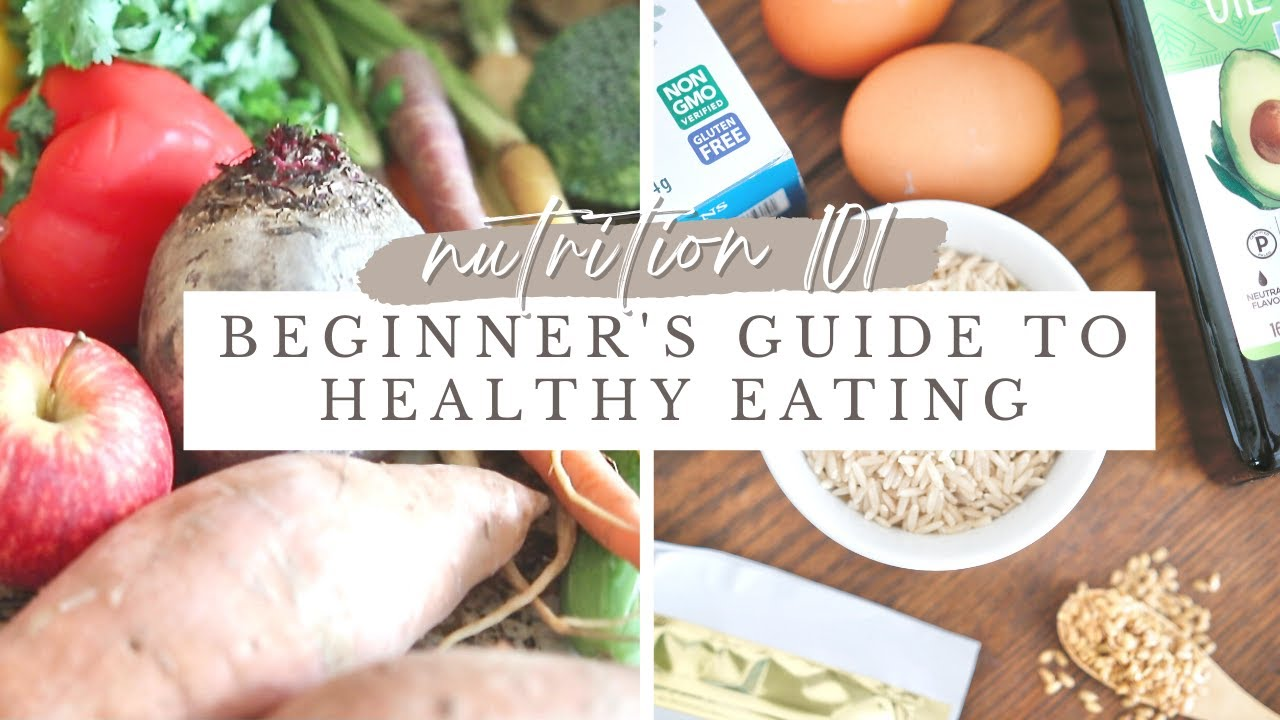 NUTRITION 101  Beginners Guide to Healthy Eating