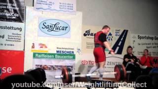 Robby Behm Chemnitzer AC Bundesliga Gewichtheben 2014 03 08