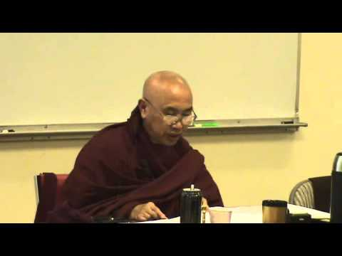Nov 23, 2008 Visuddhimagga by Venerable Sayadaw U Jotalankara at TDS Dhamma Class