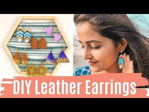 DIY EARRINGS / DIY Jewelry #1 | Dhara Patel