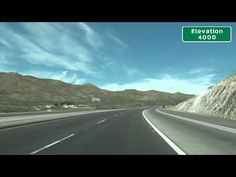 I-15 Mountain Pass, CA And The Mojave Desert National Preserve