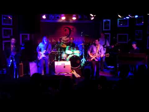 """Albert Castiglia W Schofield, Ginty & Holloway """"Let The Big Dog Eat"""" The Funky Biscuit, 3-29-2015"""
