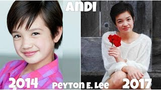 Andi Mack Before and After 2017