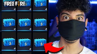 ABRO 1 CAJA DE 30,000 DIAMANTES EN FREE FIRE! *IMPOSIBLE*