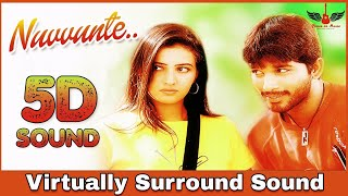 Nuvvunte | 8D Audio Song | Aarya | Allu Arjun | Devi Sri Prasad 8D Songs