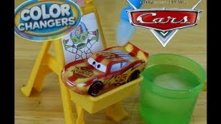 Toy Story Slide And Surprise Playset And Disney Pixar Die Cast Color Changer Cars!!