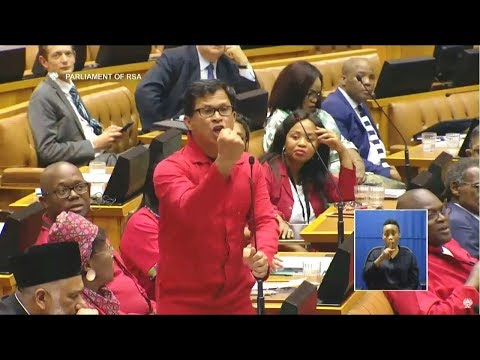 """I Will Moer You"" EFF Paulsen - Comedy In Parliament"