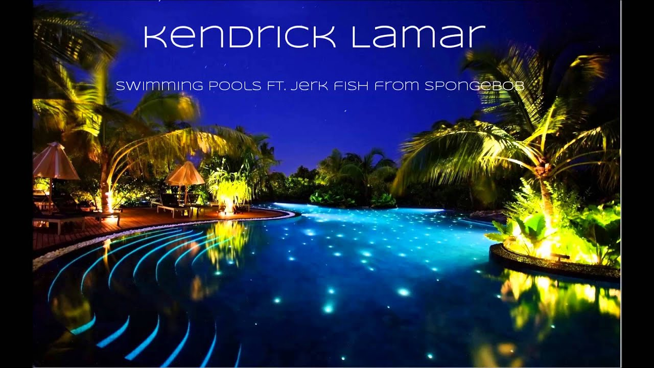 Kendrick Lamar Swimming Pools Ft Jerk Fish From Spongebob Youtube