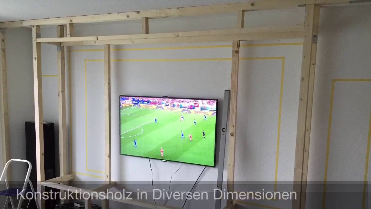 Heimkino Wand - YouTube
