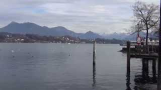 Lucerne, Switzerland on a cold November