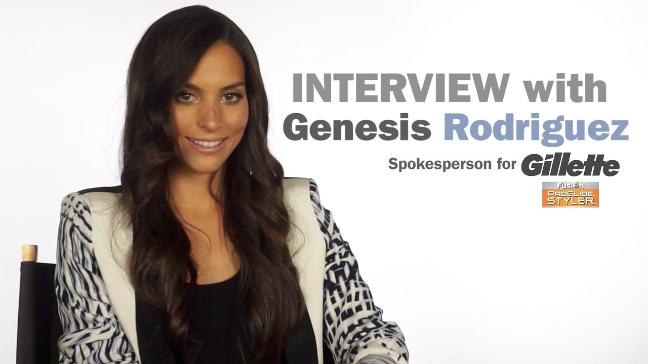 Genesis Rodriguez Nude intended for how to turn on the sexy genesis rodriguez - youtube