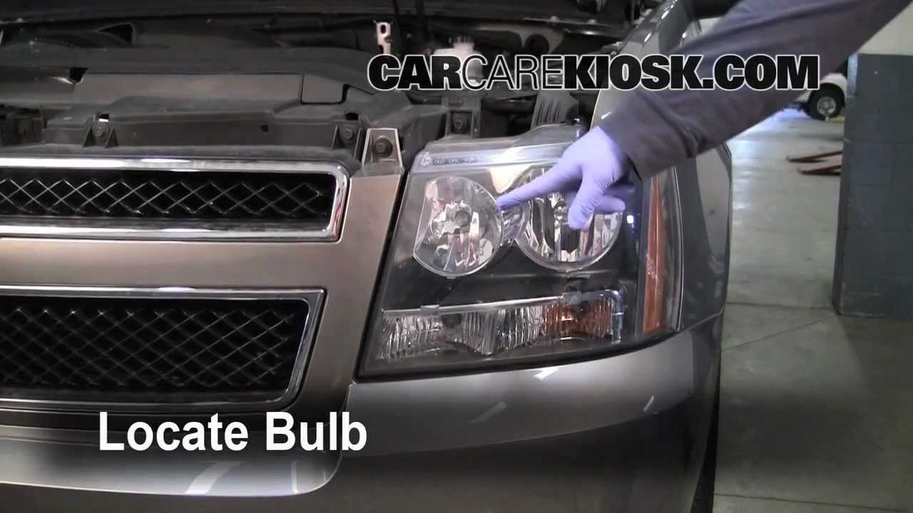 How To Preview Replace Turn Signal Headlight Brights And Dtr On A 2008 Avalanche Suburban Tahoe 2011 Equinox Mirror Wiring Diagrams Youtube
