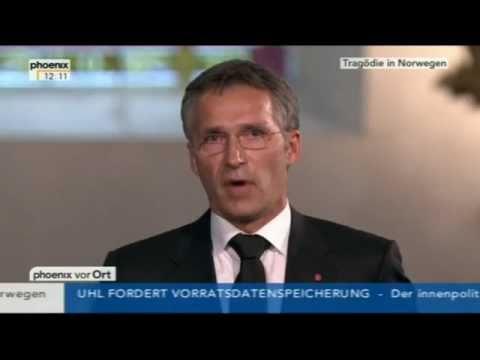 Jens Stoltenberg über die Anschläge in Norwegen