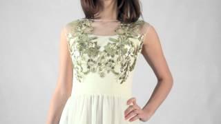 Вечернее платье в греческом стиле. Модель Лавиния