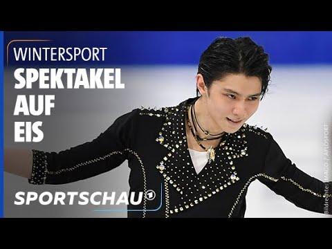Download Eiskunstläufer Yuzuru Hanyu mit dem Auftritt seines Lebens   Sportschau