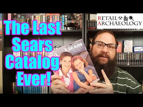 The Last Sears Catalog Ever Published From 1993! | Retail Archaeology