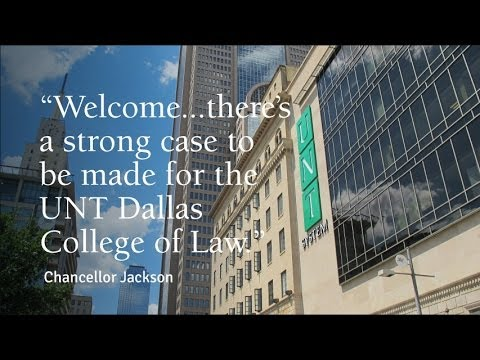 The Case for UNT Dallas College of Law