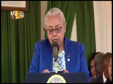 First Lady Margaret Kenyatta wants barriers impeding girl child education removed