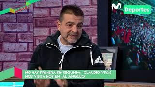 Al Ángulo: Claudio Vivas, entrenador de Sporting Cristal | ENTREVISTA Parte 1