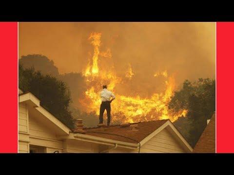 UNBELIEVABLE EVENTS HIT SANTA ROSA, CALIFORNIA