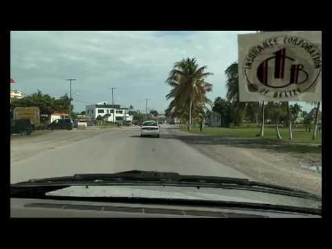 Entering Corozal town Belize