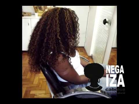 Mega Hair Salão Nega Iza Cabelos