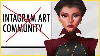 Things I Hate About The Instagram Art Community