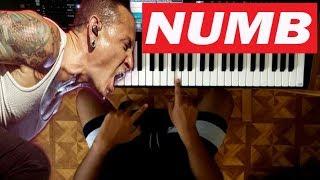Numb / Linkin Park / TUTORIAL PIANO 👨🏫🎹