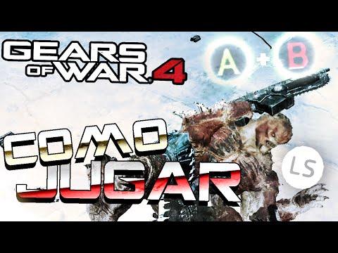 GEARS OF WAR 4 - COMO JUGAR PROFESIONALMENTE    TUTORIAL BASICO