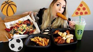 Sports Food Eating Show! PiinkSparkles Mukbang ♥