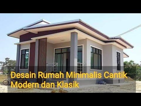 Desain Rumah Minimalis Modern Dan Klasik 2020 - YouTube