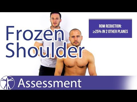 How to diagnose Frozen Shoulder | Frozen Shoulder