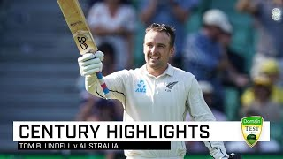 Blundell's brilliant ton a consolation for New Zealand
