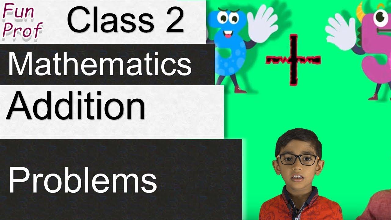 Learning Addition Problems - Kindergarten 2 or K 2 or KG 2 - Kids ...