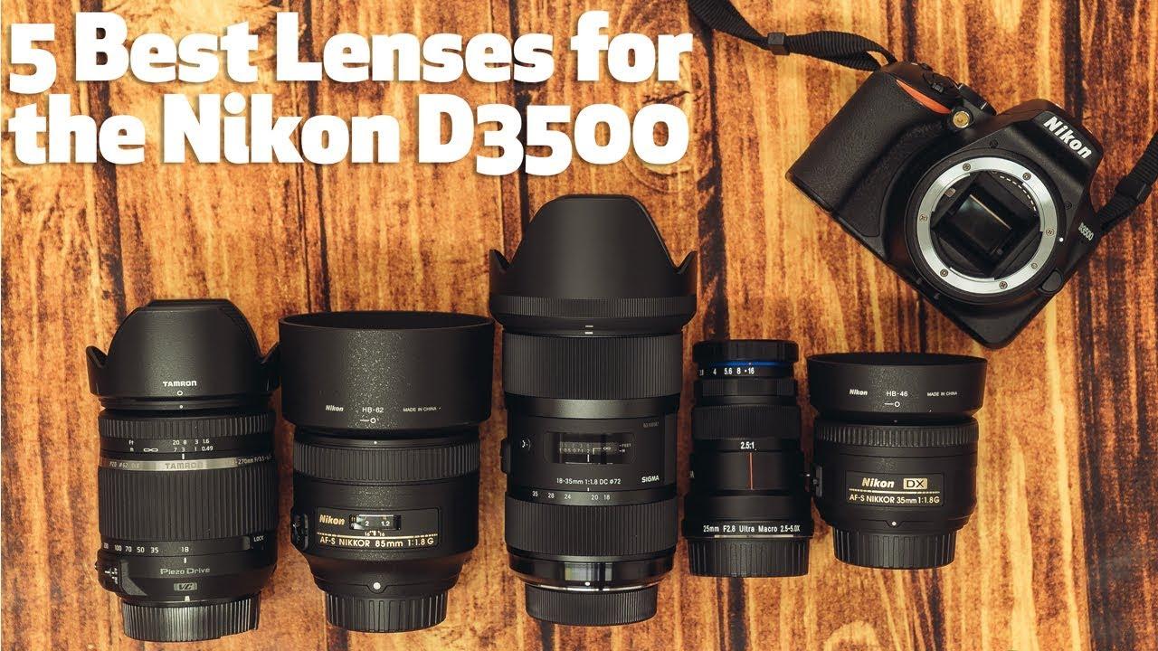 5 Best Lenses for the Nikon D3500 under $800 - Focus Camera