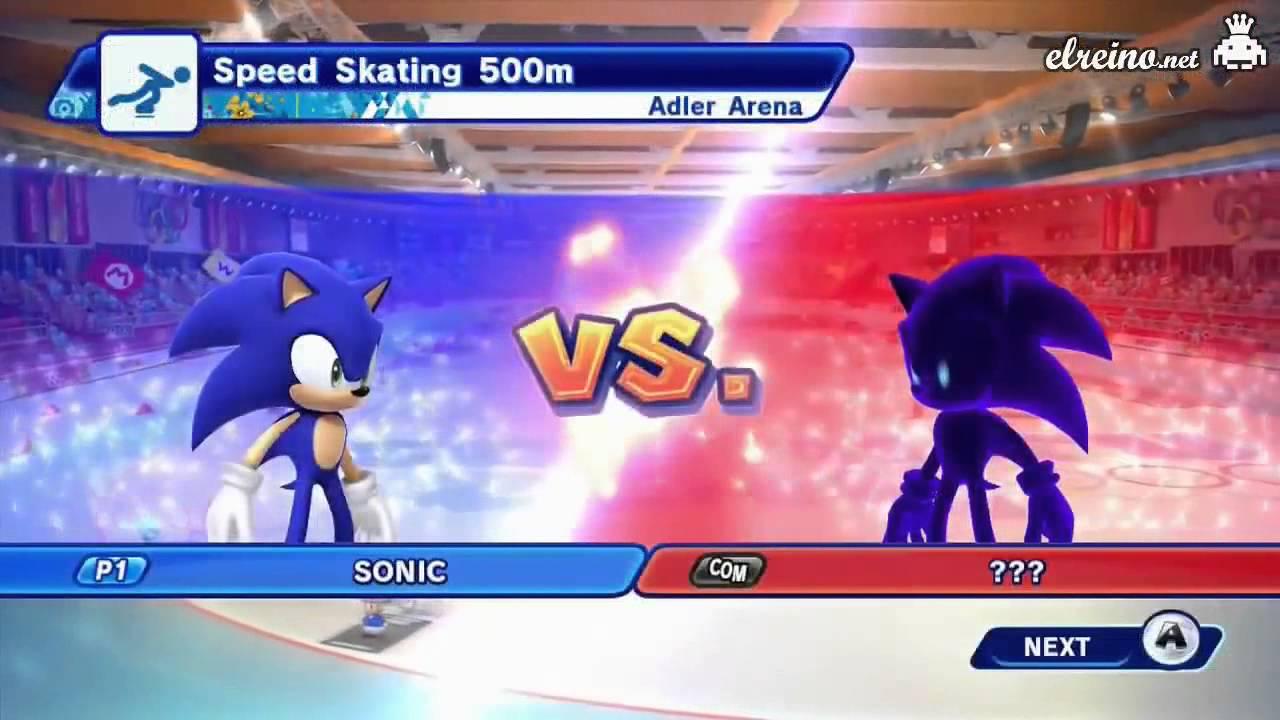 Analisis Mario Sonic En Los Juegos Olimpicos De Invierno Sochi