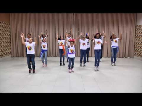 Dia de Festa - Aline Barros (Coreografia)