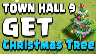 "Clash of Clans | ""TH9 CHRISTMAS TREE SPAWN BASE!"" 