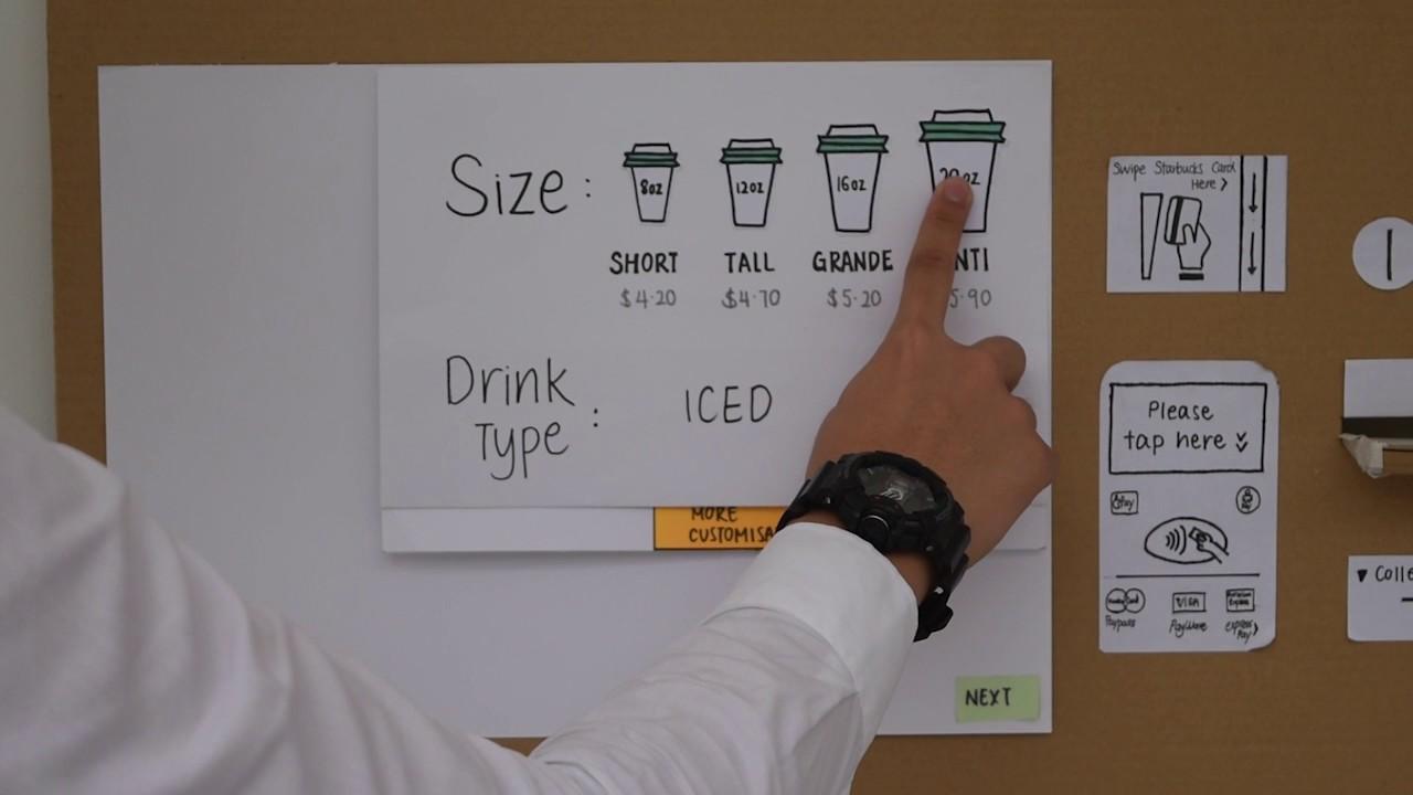 Modren Starbucks Vending Machine Service Design 2016 In