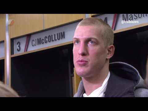Mason Plumlee Post-Game Interview | January 13, 2017