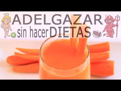 JUGO DE ZANAHORIA # ADELGAZAR SIN HACER DIETAS