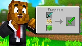 Minecraft But ALL Recipes Are Randomized - Minecraft Scramble Craft #1 | JeromeASF