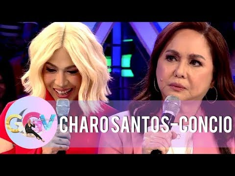 Does Vice Ganda's impersonation offend Miss Charo Santos? | GGV