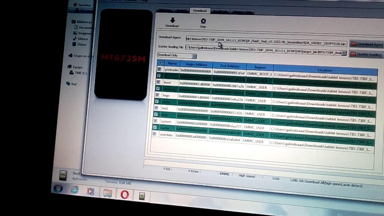 Rom Lenovo Essential Tab3 TB3-730F