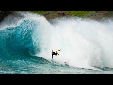 This Is All the Carnage That Comes With Charging Sandys Shorebreak With J.O.B.
