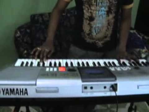 Chirodini tumi je amar-Amar sangee-Indian instrumental- played by Subhranil using keyboard.flv